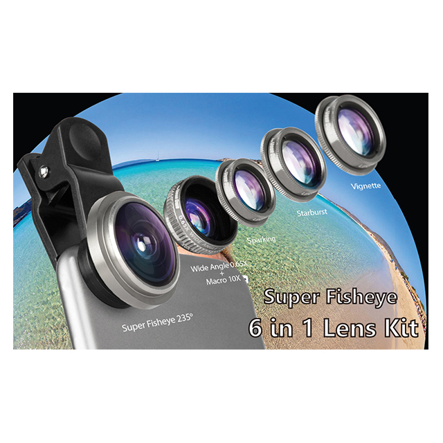 Fisheye 6in1 Lens Kitサブ画像