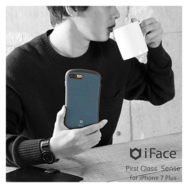 【iPhone8 Plus/7 Plus ケース】iFace First Class Senseケース (レッド)