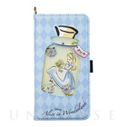 【iPhone7/6s/6 ケース】Disney Characters Bijou Diary Cover (アリス)