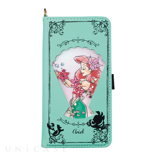 【iPhone7/6s/6 ケース】Disney Characters Bijou Diary Cover (アリエル)