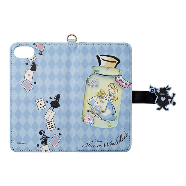 【iPhone8/7/6s/6 ケース】Disney Characters Bijou Diary Cover (アリス)
