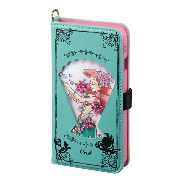 【iPhone8/7/6s/6 ケース】Disney Characters Bijou Diary Cover (アリエル)