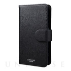 "【マルチ スマホケース】""EveryCa"" Multi PU Leather Case for Smartphone M (Black)"
