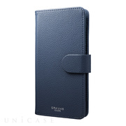 "【マルチ スマホケース】""EveryCa"" Multi PU Leather Case for Smartphone L (Navy)"