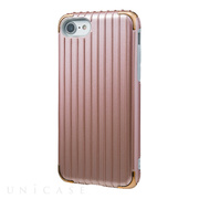 "【iPhoneSE(第2世代)/8/7 ケース】""Rib 2"" Hybrid Case (Rose Gold)"