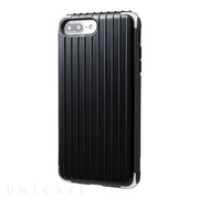 "【iPhone8 Plus/7 Plus ケース】""Rib 2"" Hybrid Case (Black)"