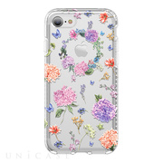 【iPhone8/7 ケース】Level Case Botanic Garden Collection (Hydrangea)