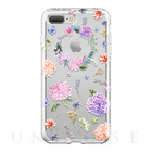 【iPhone7 Plus ケース】Level Case Botanic Garden Collection (Hydrangea)【耐衝撃】