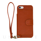 【iPhoneSE/5s/5 ケース】Real Leather Case (Caramel)