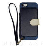 【iPhoneSE/5s/5 ケース】Real Leather Case (Indigo)