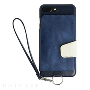 【iPhone8 Plus/7 Plus ケース】Real Leather Case (Indigo)