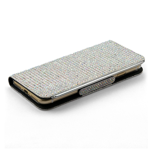 【iPhone8 Plus/7 Plus ケース】Victoria Diary Silver for iPhone7 Plus/6s Plus /6 Plusサブ画像