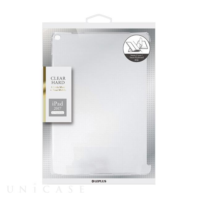 【iPad Pro(12.9inch)(第2世代) ケース】ハードケース 「CLEAR HARD」 (クリア)