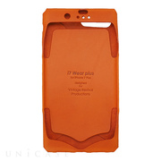 【iPhone8 Plus/7 Plus ケース】i7 Wear plus (Orange)