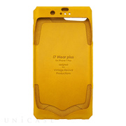 【iPhone8 Plus/7 Plus ケース】i7 Wear plus (Yellow)