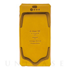 【iPhoneSE/5s/5 ケース】i5 Wear SE (Yellow)【レザー】