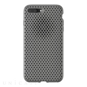 【iPhone8 Plus/7 Plus ケース】Mesh Case (Gray)