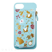 【iPhone8/7/6s/6 ケース】Disney Characters iCoinバックカバー (アリス)