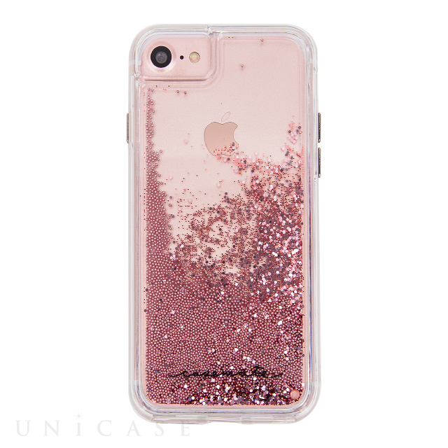 【iPhone8/7/6s/6 ケース】Waterfall (Rose Gold)
