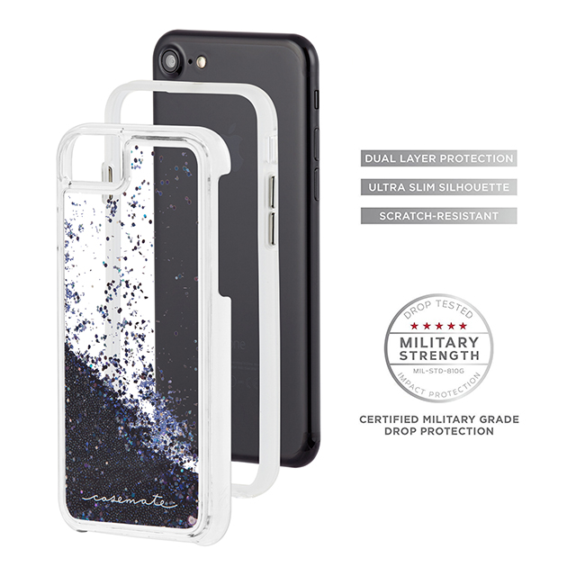 【iPhone8/7/6s/6 ケース】Waterfall (Black)サブ画像