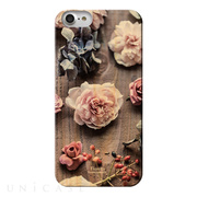 【iPhone8/7 ケース】Fioletta WOODY PHOTO CASE (English rose)