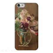 【iPhone8/7 ケース】Fioletta WOODY PHOTO CASE (Afternoon rose)