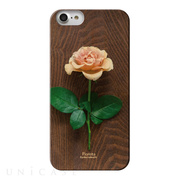 【iPhone8/7 ケース】Fioletta WOODY PHOTO CASE (Rose the)