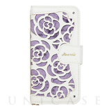 【iPhoneSE/5s/5 ケース】La Roseraie (Purple)