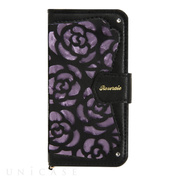 【iPhoneSE/5s/5 ケース】La Roseraie (Black × Purple)