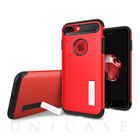 【iPhone7 Plus ケース】Slim Armor (Crimson Red)【耐衝撃】