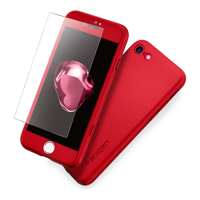 【iPhone7 Plus ケース】Thin Fit 360 (Red)サブ画像