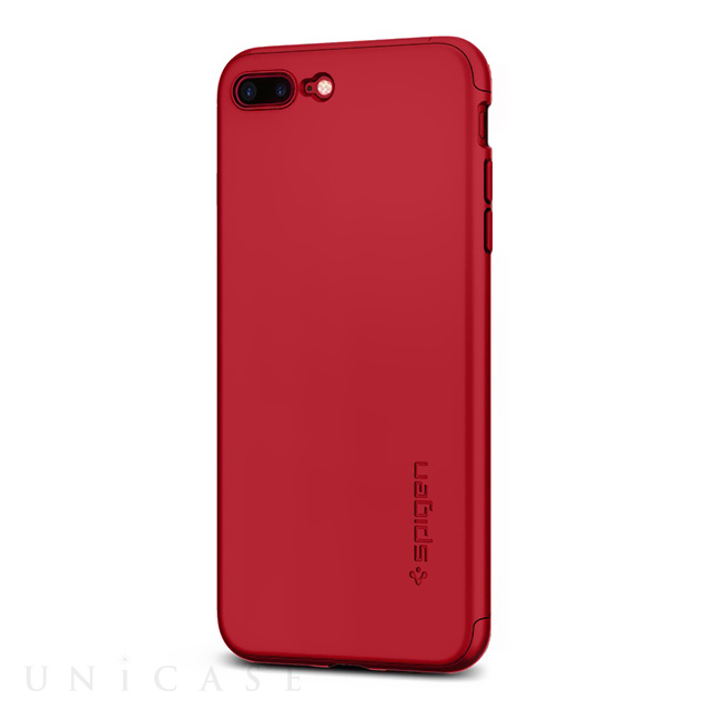 【iPhone7 Plus ケース】Thin Fit 360 (Red)