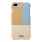 "【iPhone8 Plus/7 Plus ケース】""Nudy"" Leather Case Limited (Blue)"