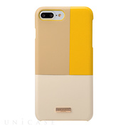 "【iPhone8 Plus/7 Plus ケース】""Nudy"" Leather Case Limited (Yellow)"