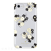 【iPhoneSE(第2世代)/8/7/6s/6 ケース】1PC Comold (Floral Burst Clear/Cream/Black/Gold Foil/Gems)