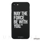 【iPhone7 ケース】STAR WARS / MATTE BLACK HARD CASE for iPhone7(Typography)