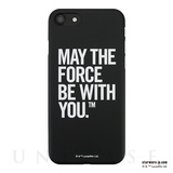 【iPhone8/7 ケース】STAR WARS / MATTE BLACK HARD CASE for iPhone7(Typography)