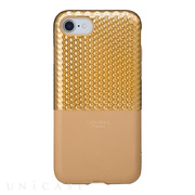 "【iPhoneSE(第2世代)/8/7 ケース】""Hex"" Hybrid Case (Gold)"
