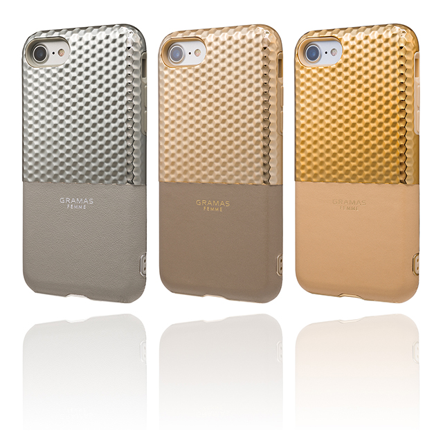 "【iPhone8/7 ケース】""Hex"" Hybrid Case (Champagne)"