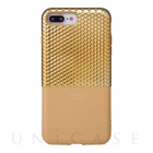 "【iPhone7 Plus ケース】""Hex"" Hybrid Case (Gold)【レザー】"