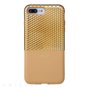 "【iPhone8 Plus/7 Plus ケース】""Hex"" Hybrid Case (Gold)"