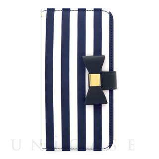 【iPhone7/6s/6 ケース】Ribbon Diary Stripe for iPhone7/6s/6 Navy