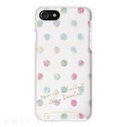 【iPhone8 Plus/7 Plus ケース】タフケース OILSHOCK DESIGNS (Rainbow dots)