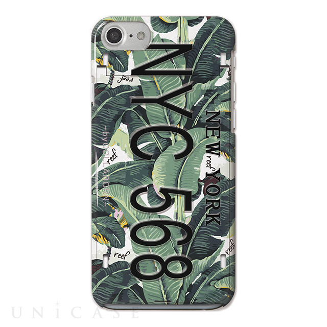 【iPhoneSE(第2世代)/8/7/6s/6 ケース】iCompact Collaborn オリジナル (Numberplate_NYC REEF)