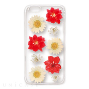 【iPhoneSE/5s/5 ケース】Fleurir (Red flowers)