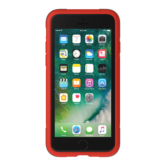【iPhone8/7/6s/6 ケース】Solo Case (Black/Red)サブ画像