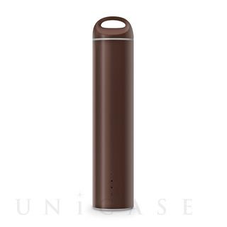 モバイルバッテリー 3350mAh ブラウン