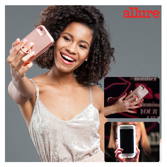 【iPhone8 Plus/7 Plus ケース】allure × Case-Mate Selfie Case (Rose Gold)サブ画像