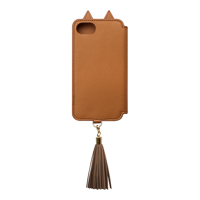 【iPhone8/7/6s/6 ケース】Tassel Tail Cat for iPhone8/7/6s/6(CAMEL)サブ画像