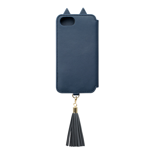 【iPhone8/7/6s/6 ケース】Tassel Tail Cat for iPhone8/7/6s/6(NAVY)サブ画像